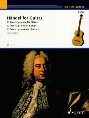 Haendel for Guitar - Guitare HAENDEL Partition Guitare - laflutedepan