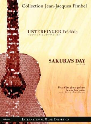 Sakura's Day - Frédéric Unterfinger - Partition - laflutedepan.com