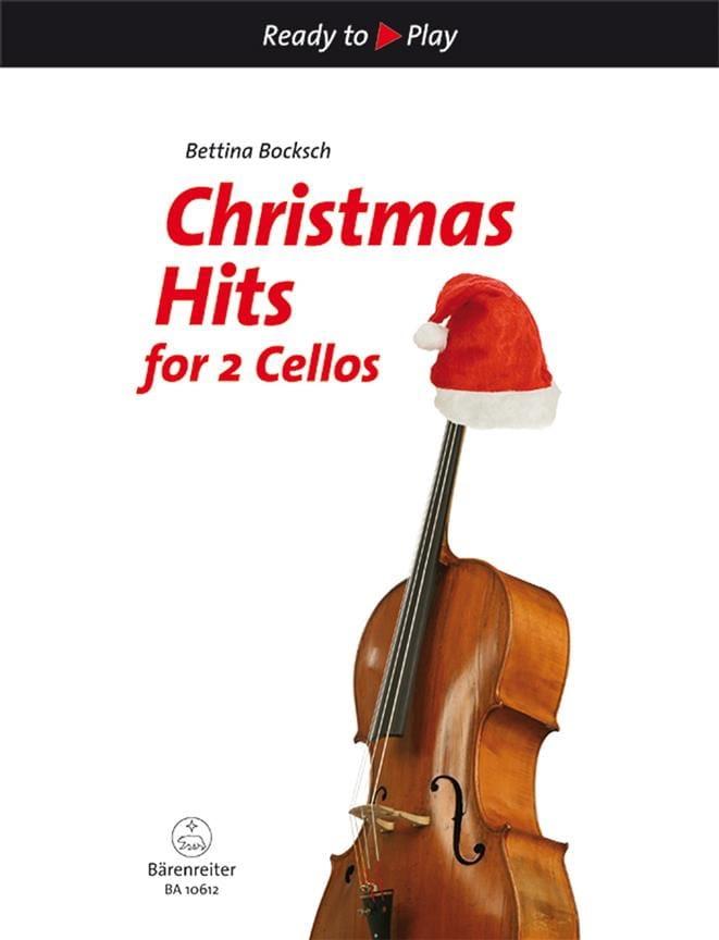 Christmas Hits For 2 Cellos - Bettina Bocksch - laflutedepan.com