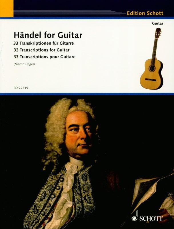 Haendel for Guitar - Guitare - HAENDEL - Partition - laflutedepan.com