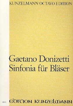 Sinfonia für Bläser - Partitur DONIZETTI Partition laflutedepan