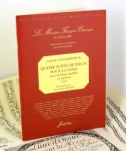 Quatre Suites de Pièces Pour la Viole Op.3 laflutedepan