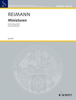 Miniaturen - Partitur + Stimmen Aribert Reimann Partition laflutedepan