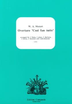 Ouverture Cosi Fan Tutte MOZART Partition Sextuors - laflutedepan