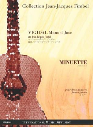 Minuette - Manuel José Vigidal - Partition - laflutedepan.com