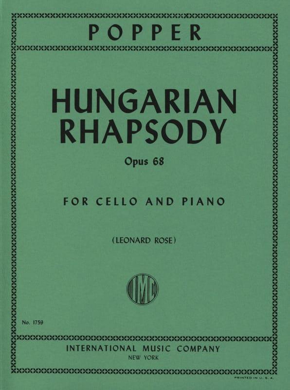 Hungarian Rhapsody op. 68 - David Popper - laflutedepan.com
