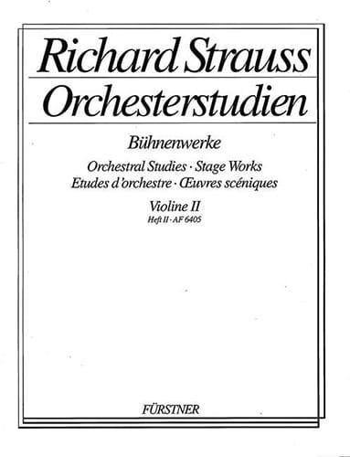 Orchesterstudien Violine 2, Heft 2 - laflutedepan.com