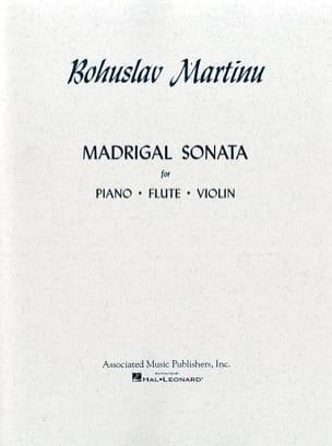 Madrigal Sonata MARTINU Partition Trios - laflutedepan
