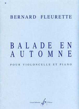 Balade en automne Bernard Fleurette Partition laflutedepan