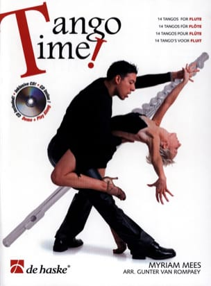 Tango Time for Flute Myriam Mees Partition laflutedepan
