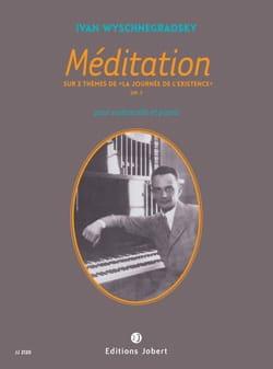 Méditation - Ivan Wyschnegradsky - Partition - laflutedepan.com