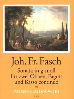 Sonate en sol mineur - 2 Hautbois, Basson et BC laflutedepan