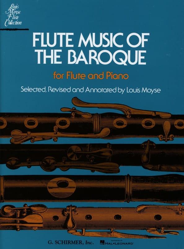 Flute Music of the Baroque - Flute piano - laflutedepan.com
