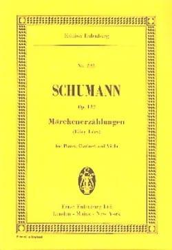 Märchenerzählungen, op. 132 SCHUMANN Partition laflutedepan