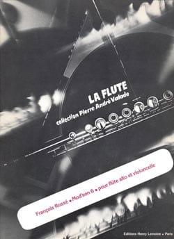 Mod'son 6 - Flûte alto et violoncelle François Rossé laflutedepan