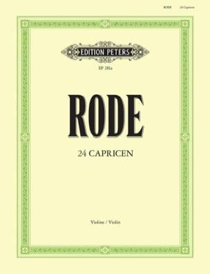 24 Caprices Davisson Pierre Rode Partition Violon - laflutedepan