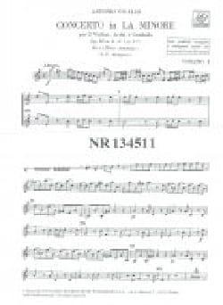 Concerto en la min. - F. 1 n° 177 -Set VIVALDI Partition laflutedepan