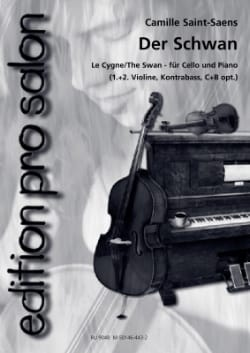 Der Schwan SAINT-SAËNS Partition Trios - laflutedepan