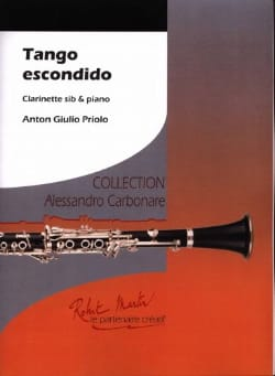 Tango Escondido - Anton Giulio Priolo - Partition - laflutedepan.com