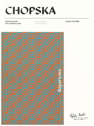 Chopska Laurent Flechier Partition Clarinette - laflutedepan