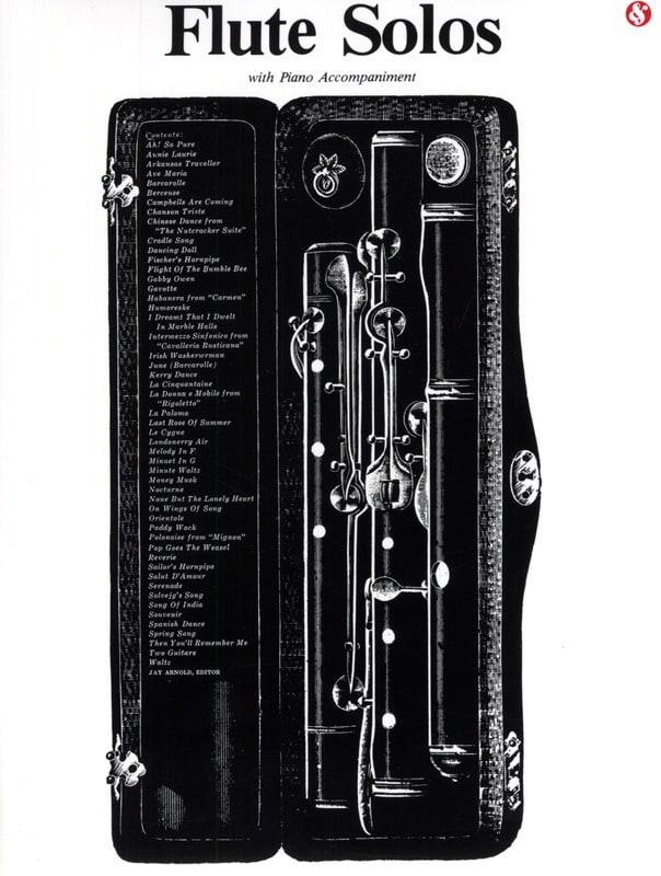 Flute Solos With Piano Accompaniment - laflutedepan.com