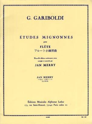 Etudes Mignonnes op. 131 GARIBOLDI Partition laflutedepan