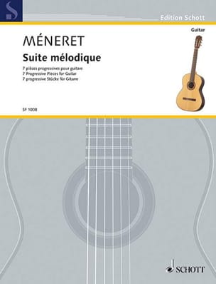 Suite mélodique Laurent Méneret Partition Guitare - laflutedepan