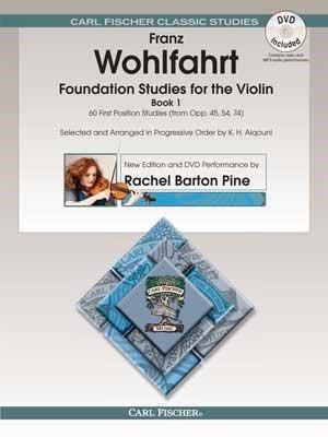 Foundation Studies for the Violin, vol. 1 Franz Wohlfahrt laflutedepan