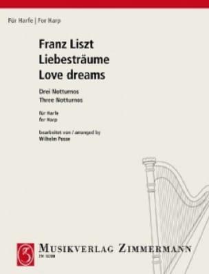 Liebesträume - LISZT - Partition - Harpe - laflutedepan.com