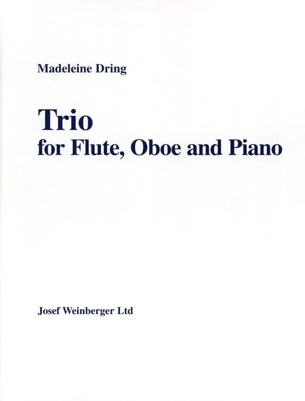 Trio - Madeleine Dring - Partition - Trios - laflutedepan.com
