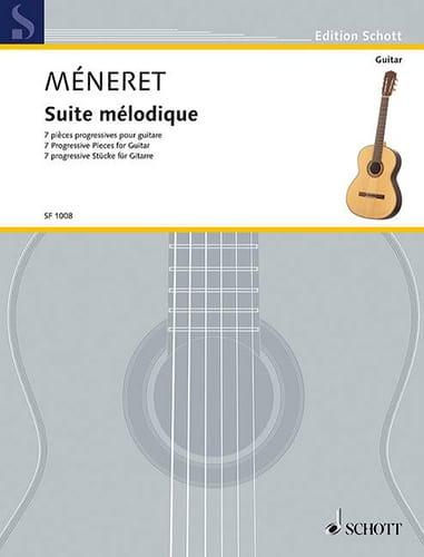 Suite mélodique - Laurent Méneret - Partition - laflutedepan.com