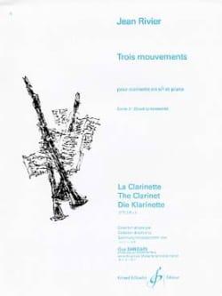 Trois mouvements - Volume 2 Jean Rivier Partition laflutedepan