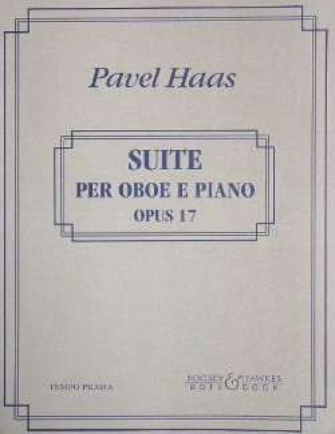 Suite per oboe e piano op. 17 Pavel Haas Partition laflutedepan