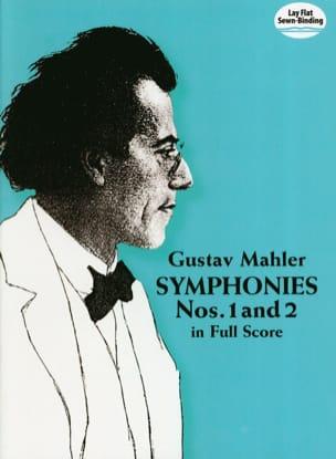 Symphonies N°1 et 2 - Full Score MAHLER Partition laflutedepan