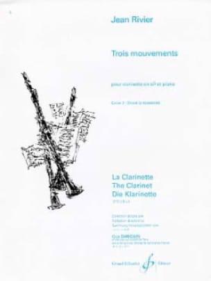 Trois mouvements - Volume 2 - Jean Rivier - laflutedepan.com