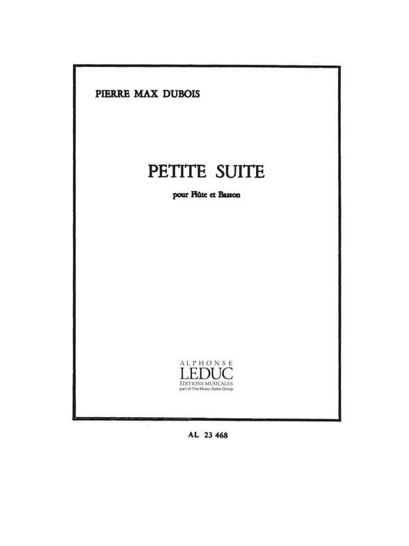 Petite Suite - Flûte et Basson - Pierre-Max Dubois - laflutedepan.com