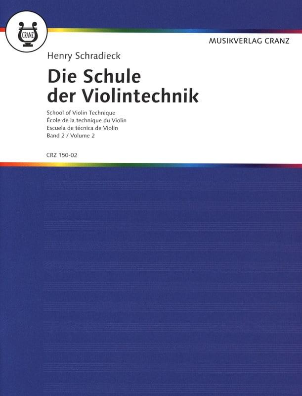 Ecole de la technique, Volume 2 - Violon - laflutedepan.com