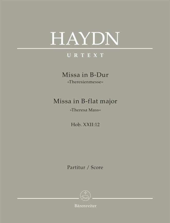 Theresien Messe - Conducteur - HAYDN - Partition - laflutedepan.com