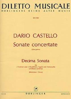 Decima Sonata in a-moll La Min. - 2 Flûtes A Bec-B.C. laflutedepan
