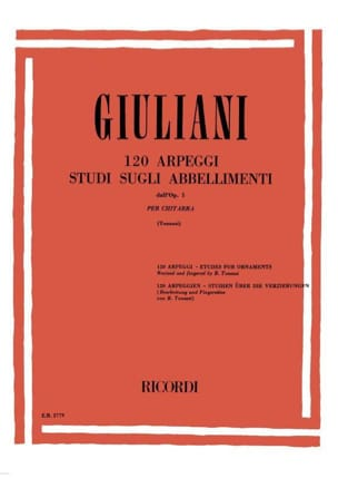 120 Arpeggi - Studi sugli abbellimenti dall'op. 1 laflutedepan