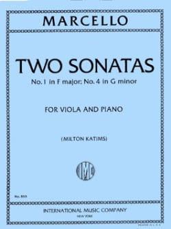 2 Sonates - N°1 En Fa Maj et N°2 En Sol Min. laflutedepan