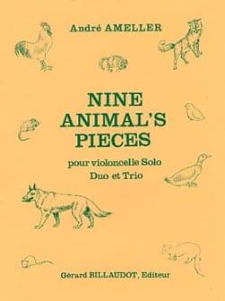 Nine Animal's Pieces André Ameller Partition laflutedepan