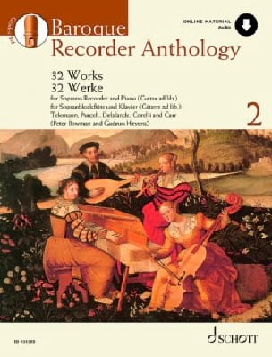 Baroque Recorder Anthology Volume 2 Partition laflutedepan