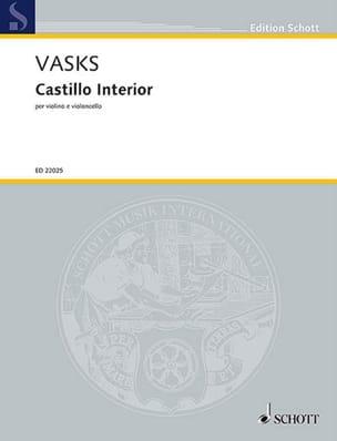 Castillo interior - Violon et violoncelle Peteris Vasks laflutedepan