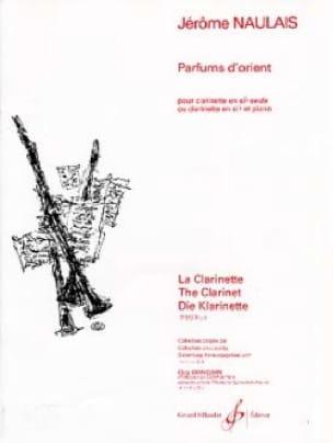 Parfums d'Orient - Jérôme Naulais - Partition - laflutedepan.com