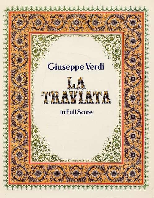 La Traviata - VERDI - Partition - Grand format - laflutedepan.com