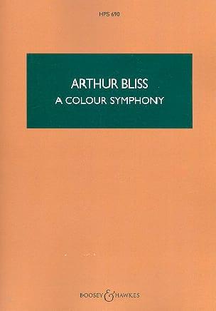 A Colour Symphony - Arthur Bliss - Partition - laflutedepan.com