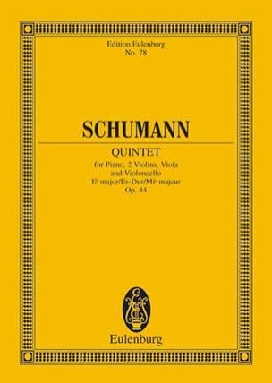 Quintett Es-Dur, Op. 44 - Conducteur SCHUMANN Partition laflutedepan