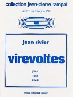 Virevoltes Jean Rivier Partition Flûte traversière - laflutedepan