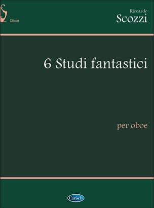 6 Studi Fantastici - Ricardo Scozzi - Partition - laflutedepan.com